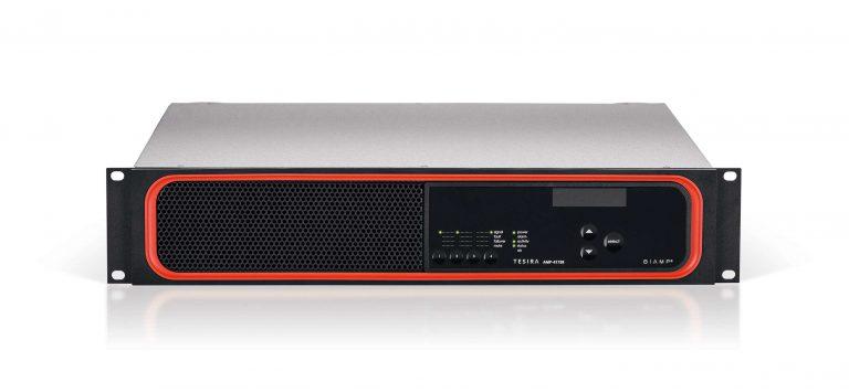 tesira amplifier 4175r front