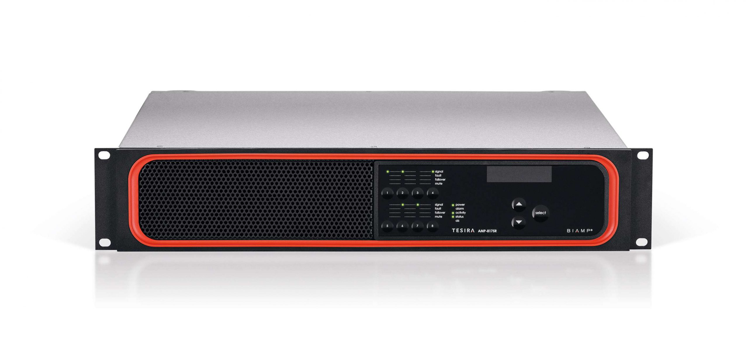 tesira amplifier 8175r front