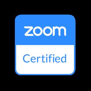 certyfikacja zoom
